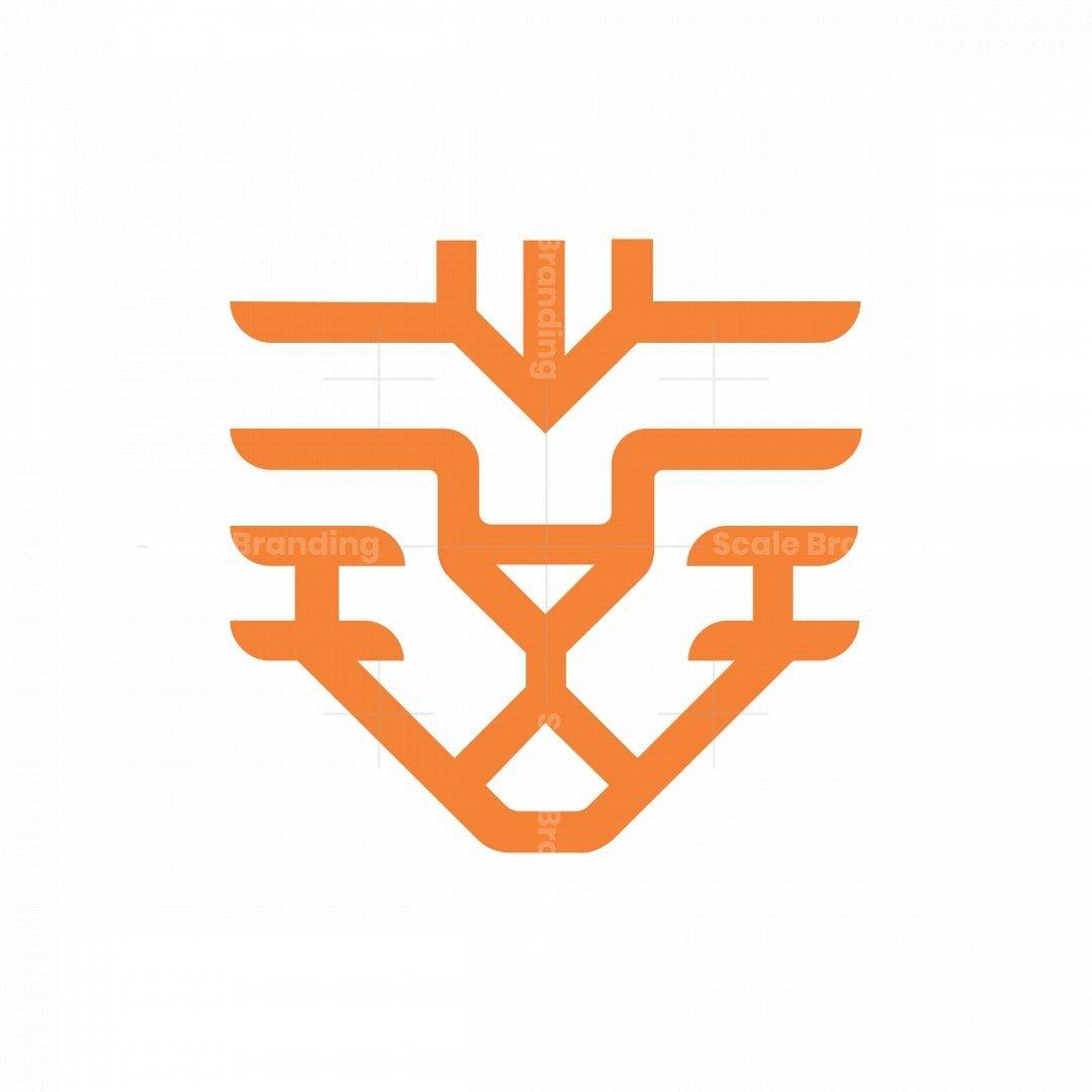 Minimalist Tiger Logo