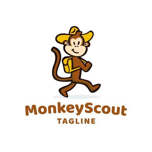 Monkey Scout Logo