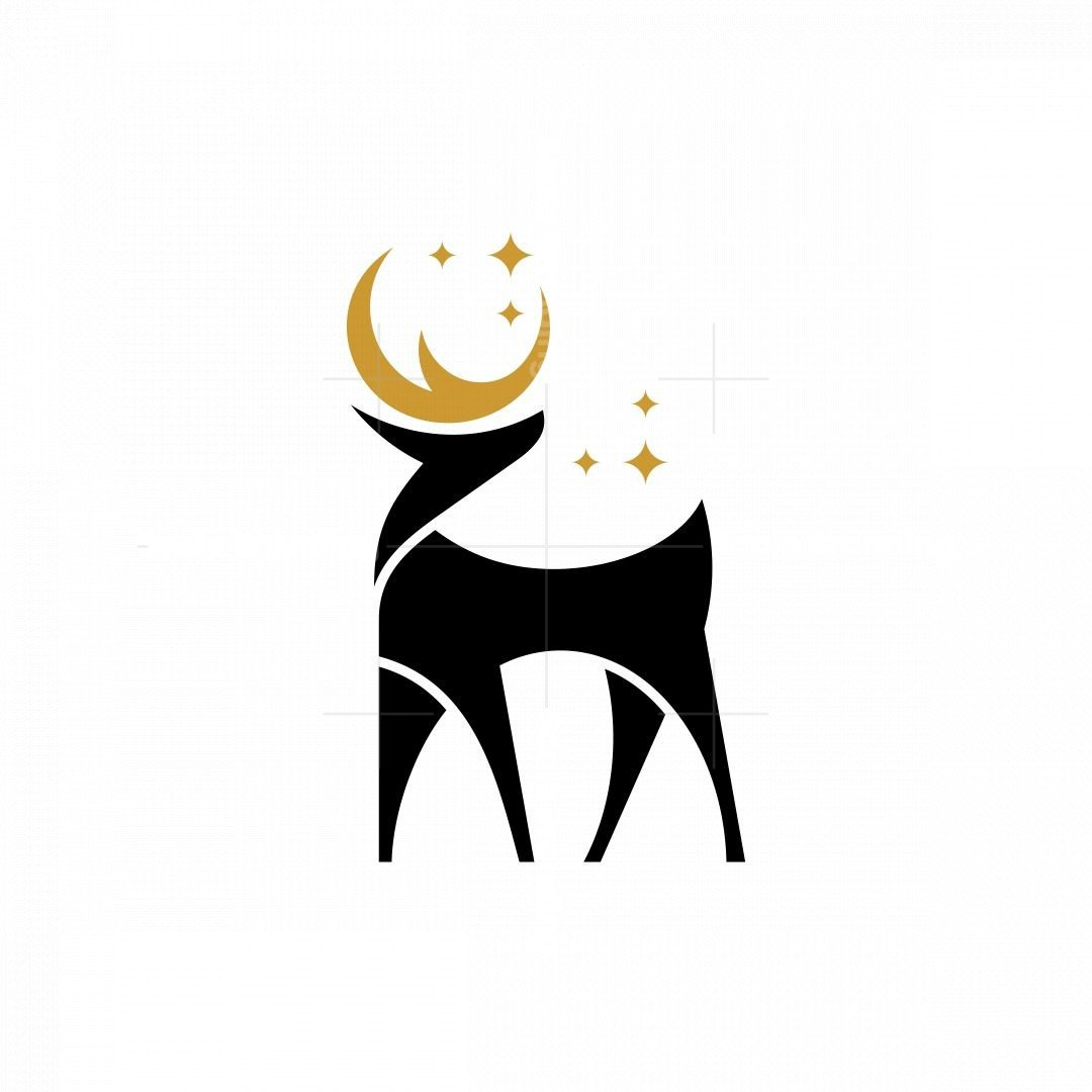 Night Deer Logo
