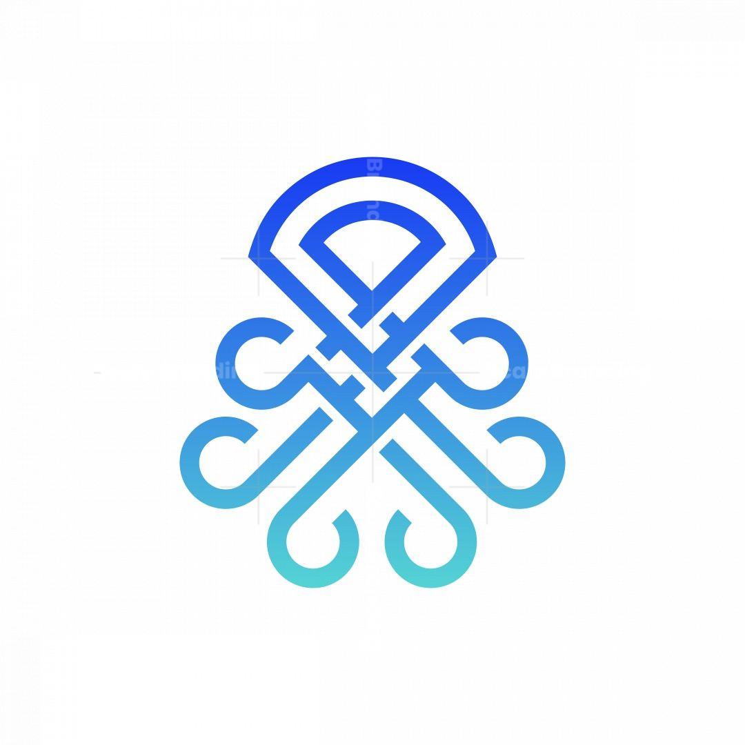 Octopus Knot Logo