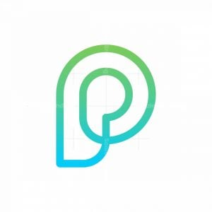 P Monoline Logo