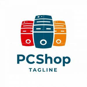 Pc Shop Logo