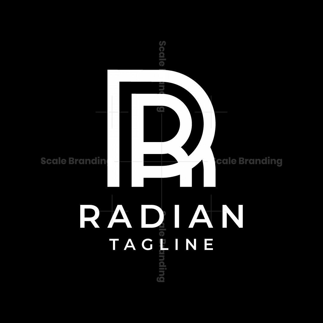 Radian Letter R Logo
