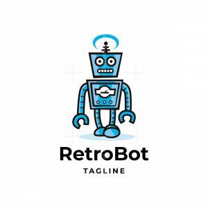 Retro Bot Logo