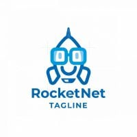 Rocket Net Logo