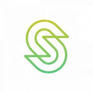 S Monoline Logo
