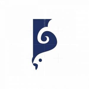 Minimal Fish Logo