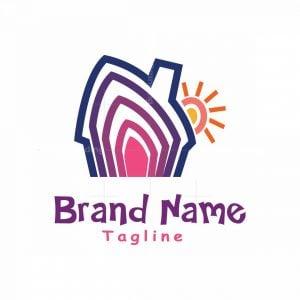 Colourful House Logo