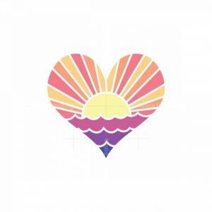 Heart Sun River Logo