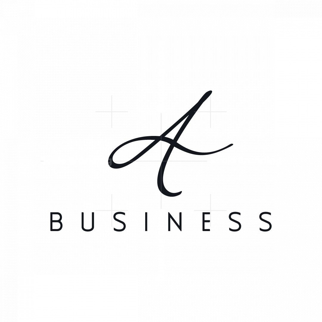 Signature Letter A Logo