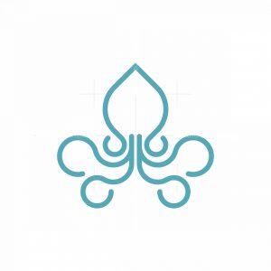 Squid Mark Logo