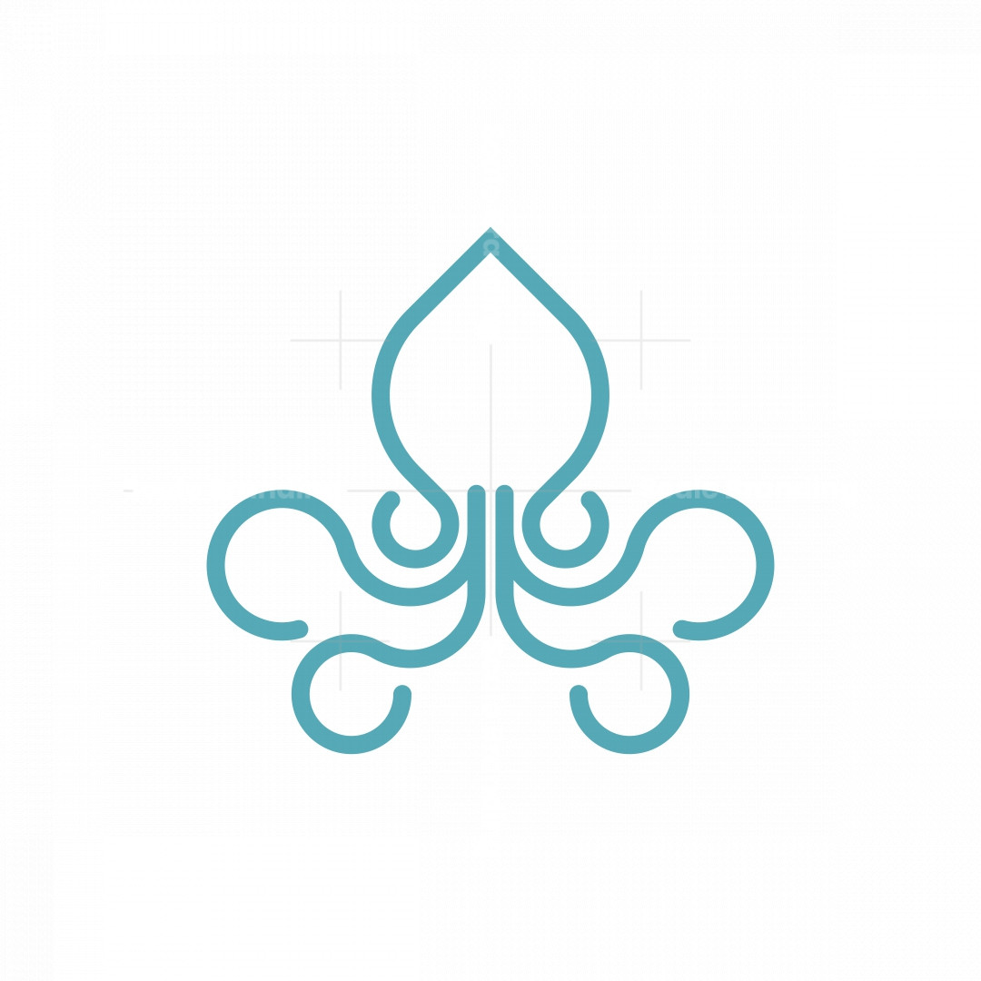 Squid Mark Logo