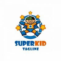Super Kid Logo