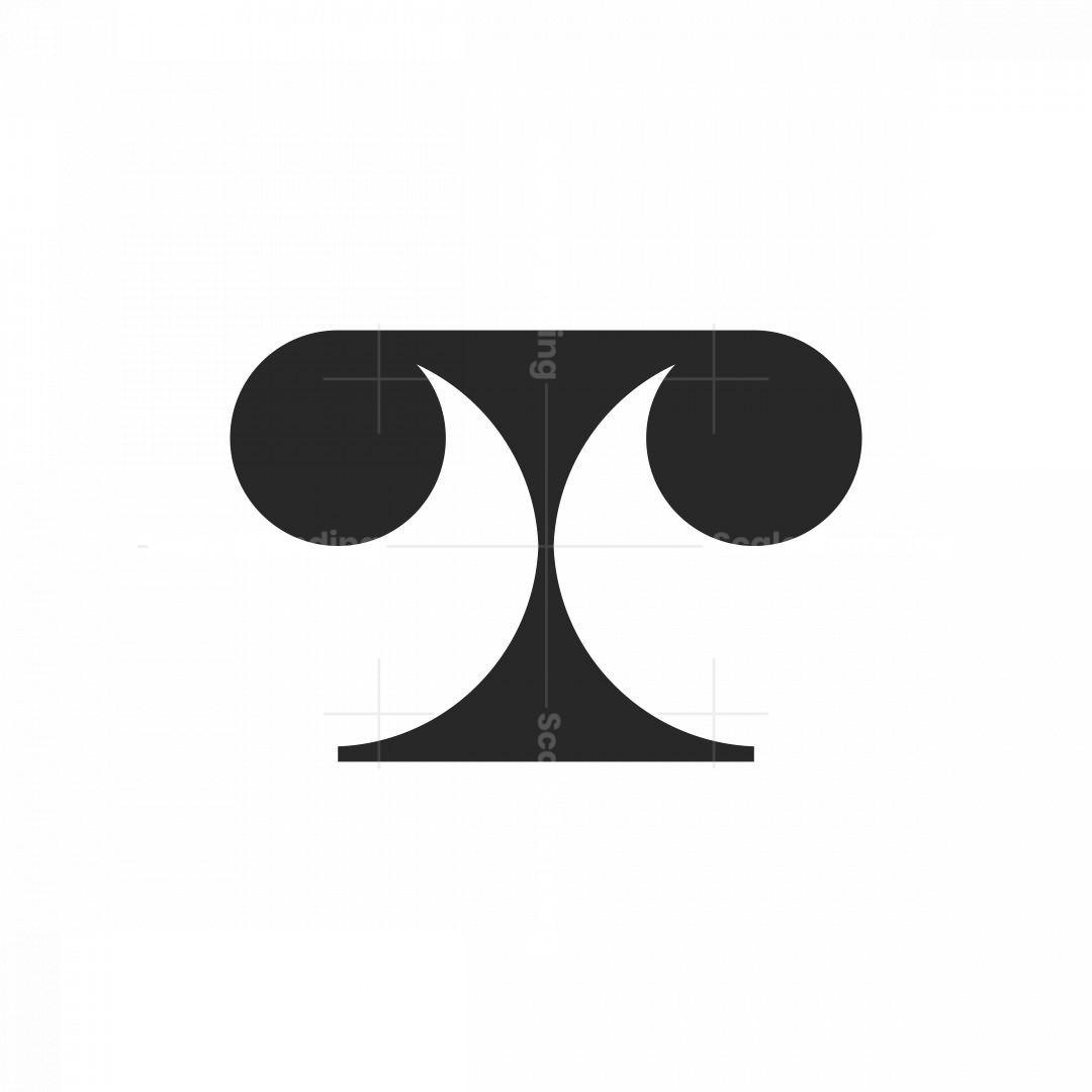 T Monogram Logo