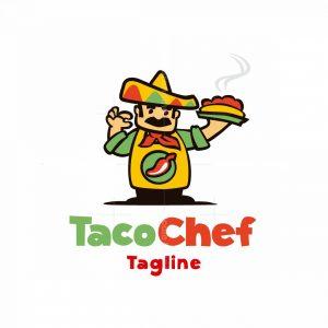 Taco Chef Logo