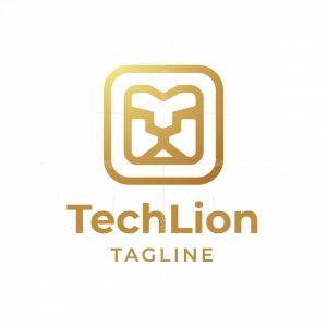 Tech Lion Logo