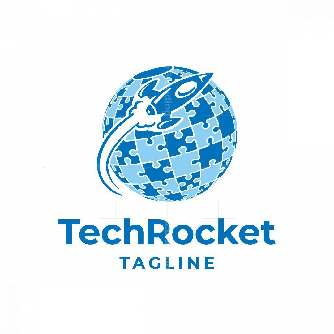 Tech Rocket Logo