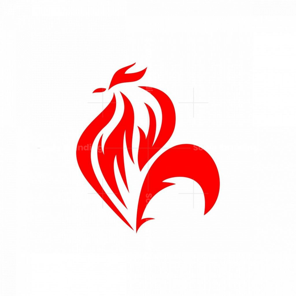 The Rooster Logo