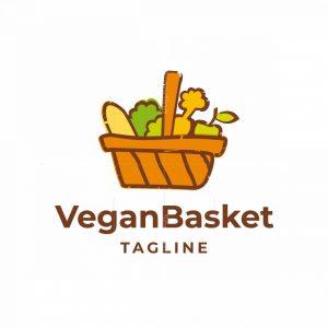 Vegan Basket Logo
