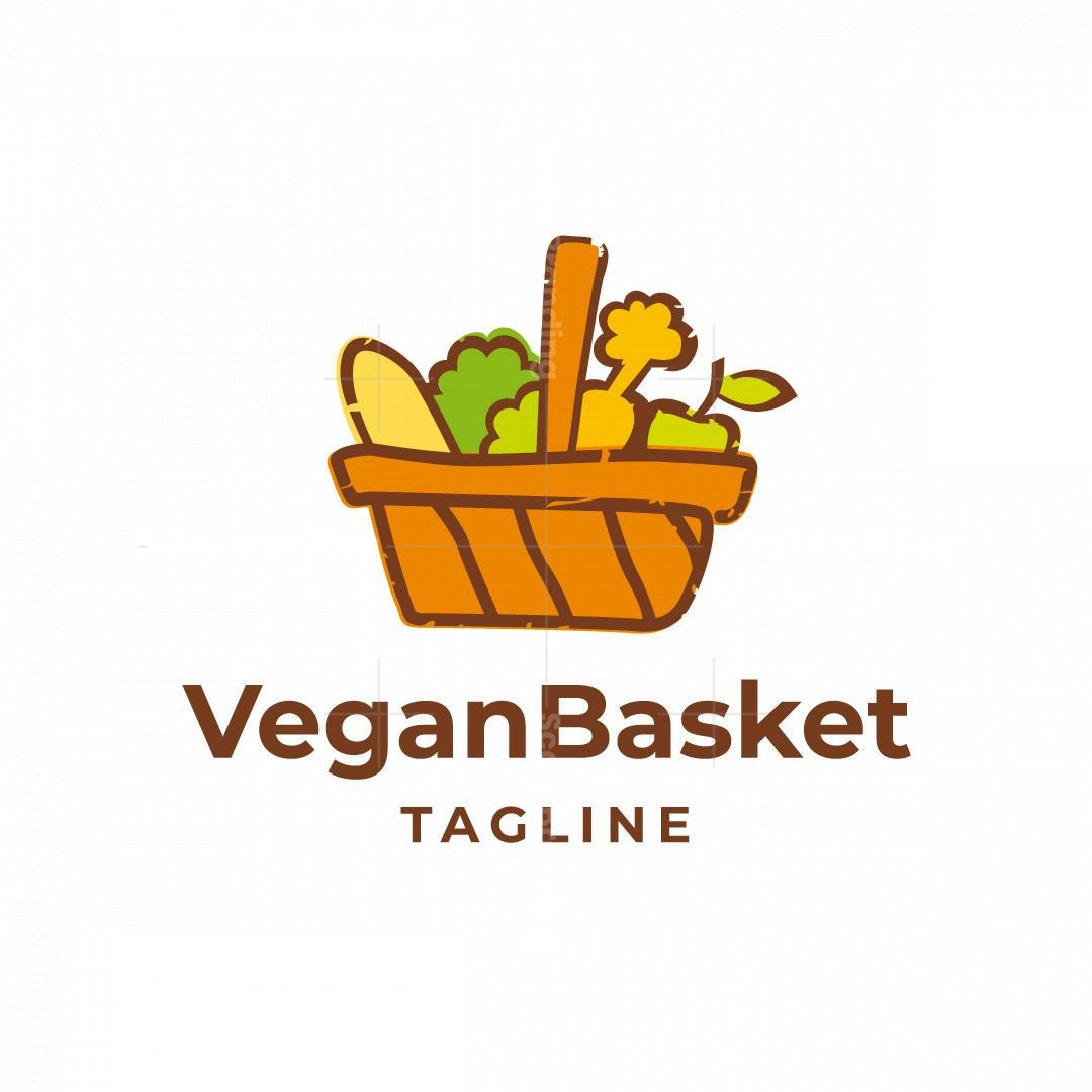 Vegan Basket Logo