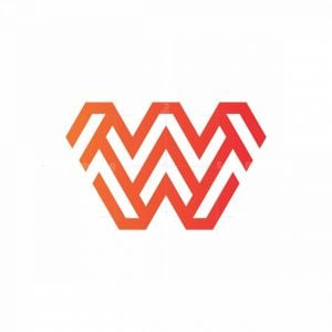 W Monogram Logo