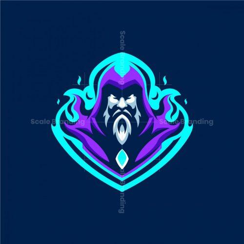 Warlock Mascot Logo