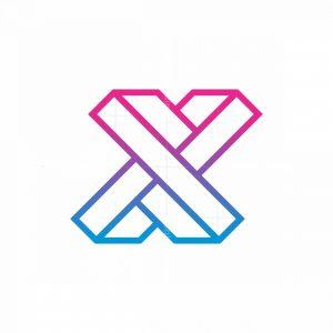 X Monogram Logo