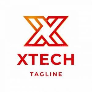 X Tech Letter X Logo