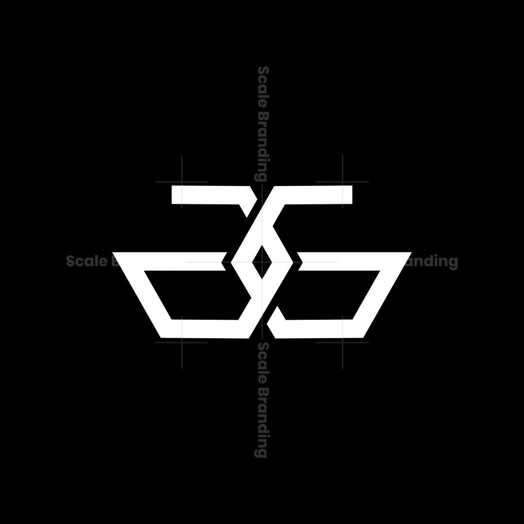 Ag Or Gg Monogram Logo