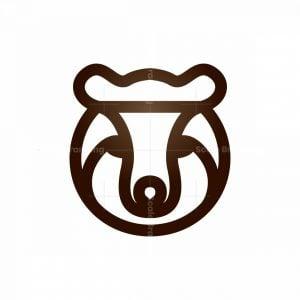 Royal Crown Bear Logo