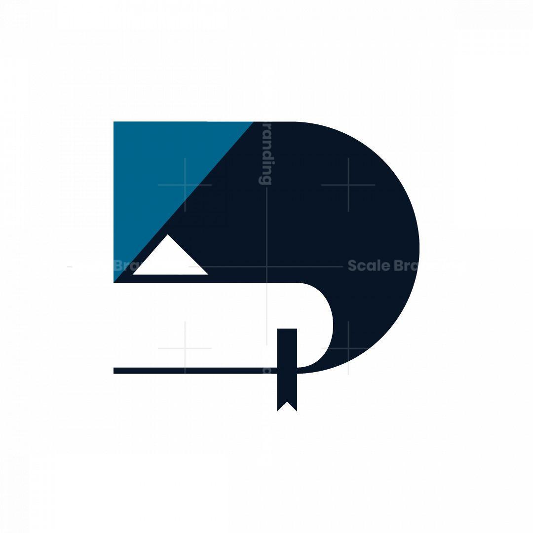 Book Letter D Logo