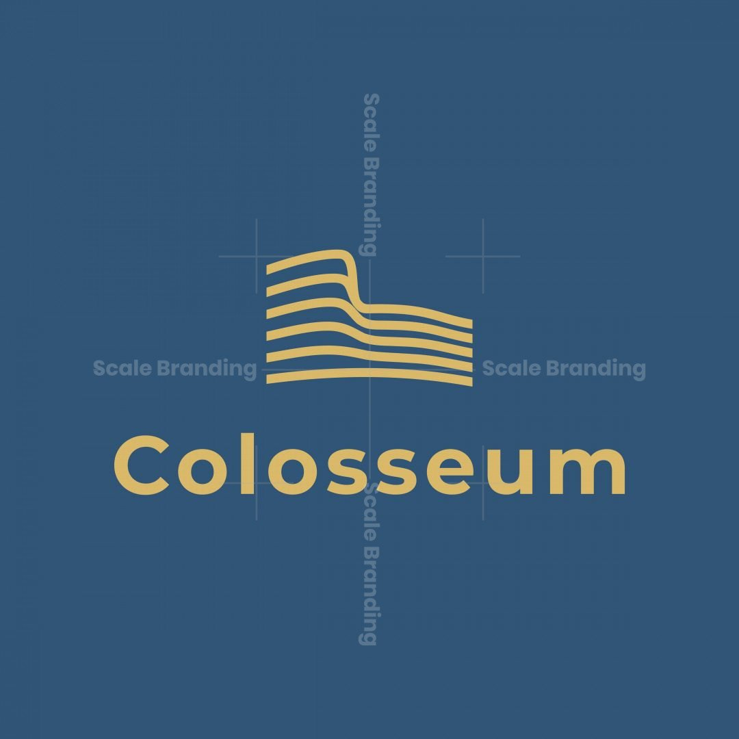 Colosseum Abstract Logo