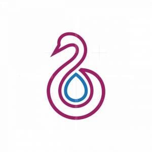 Water Swan Logo