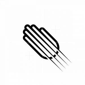 Dynamic Hand Logo