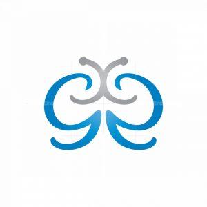 Double G Butterfly Logo
