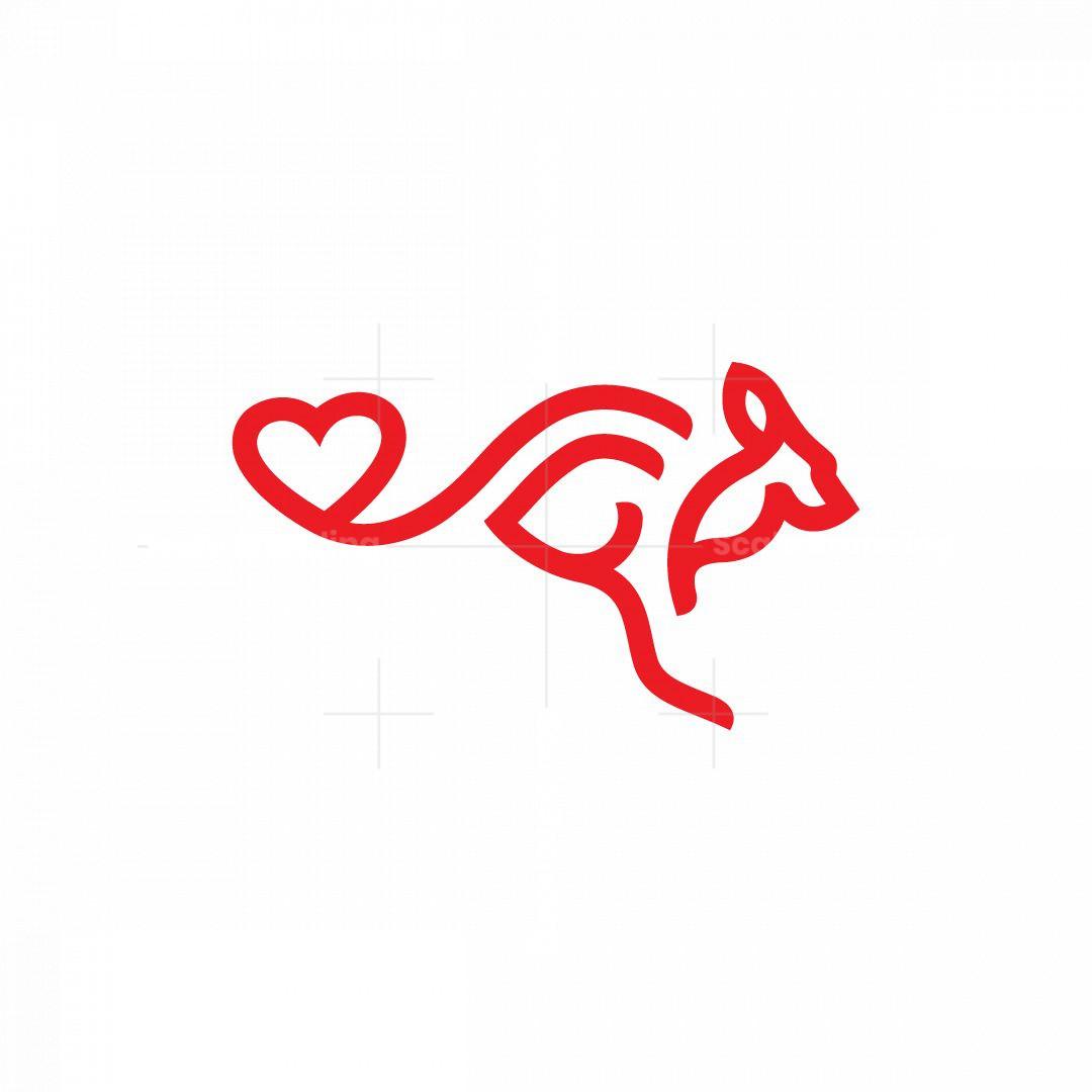 Love Kangaroo Logo