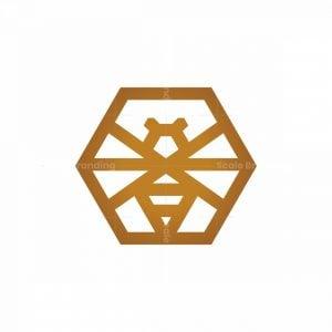 Hexagon Bee Logo