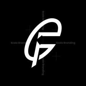 Letter Fg Or Fe Arrow Logo