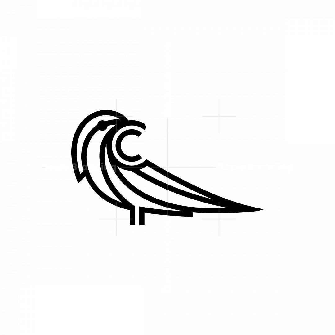 C Crow Logo Raven Logo