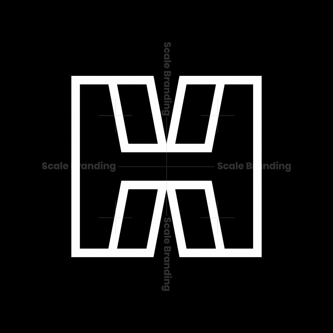 Letter H Or Hx Logo
