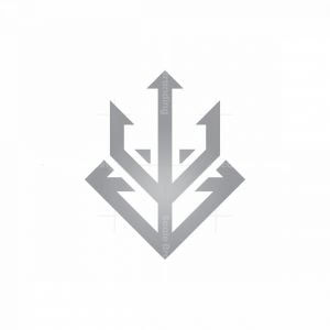 Diamond Luxury Trident Logo