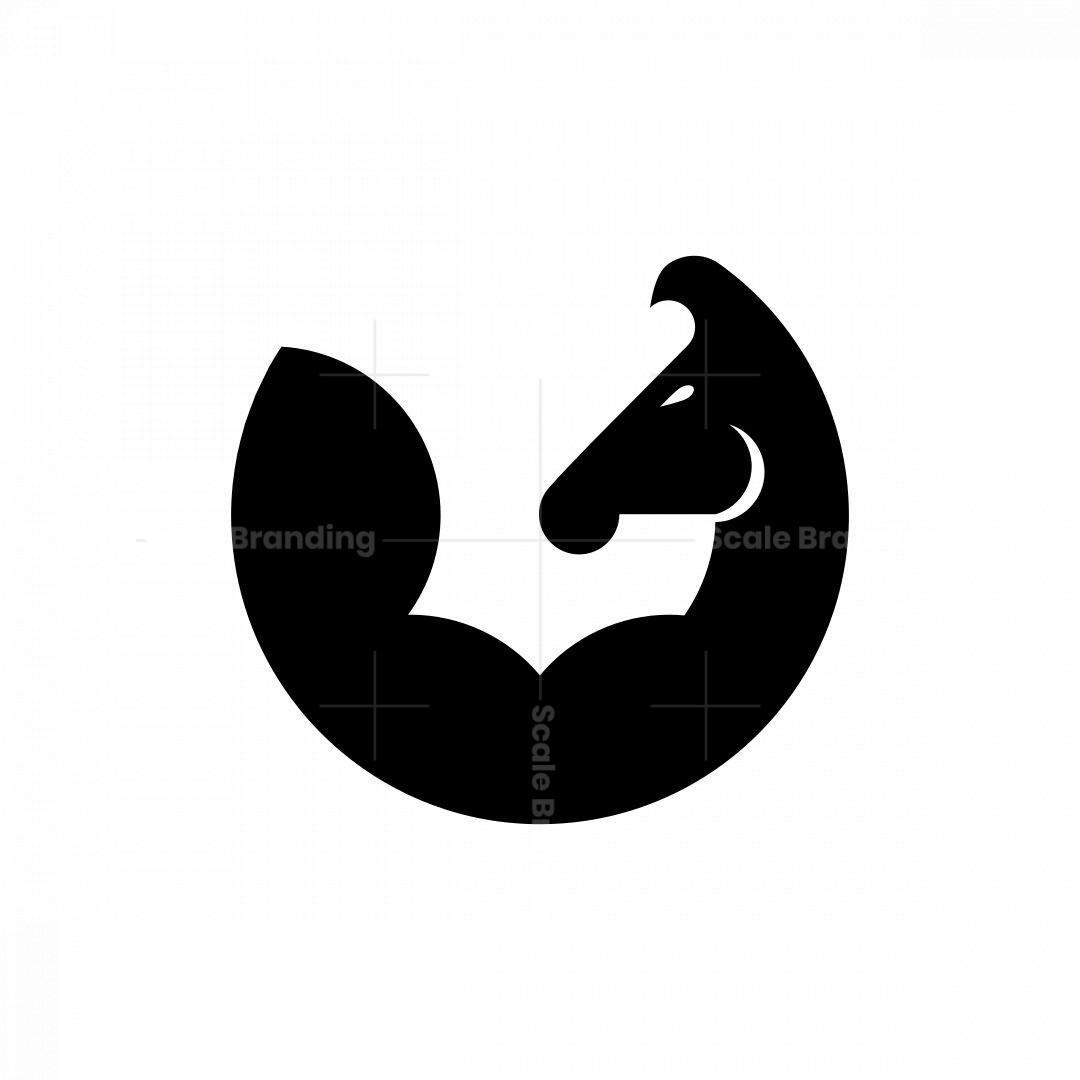 Muscle Horse Logo
