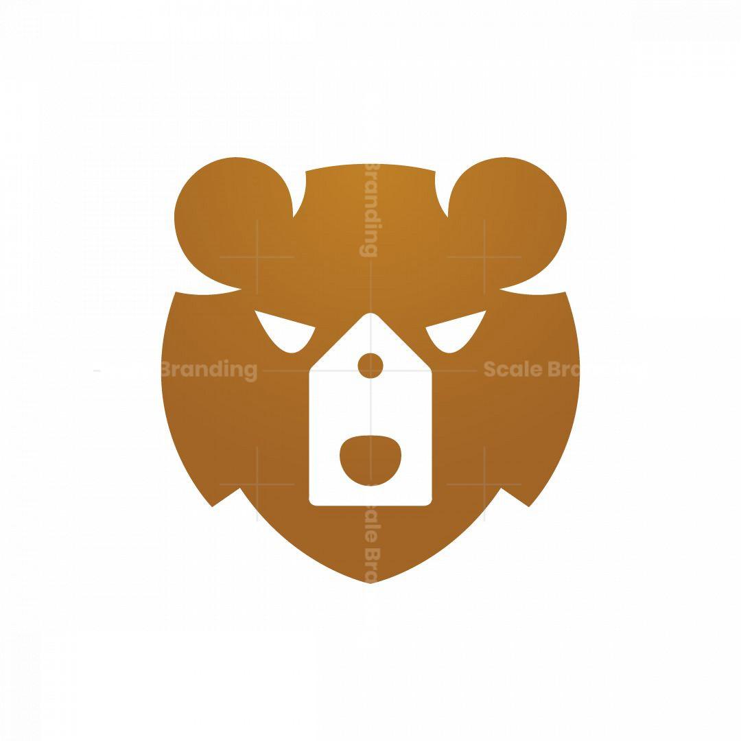 Price Tag Bear Head Logo