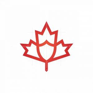 Maple Leaf Shield Logo