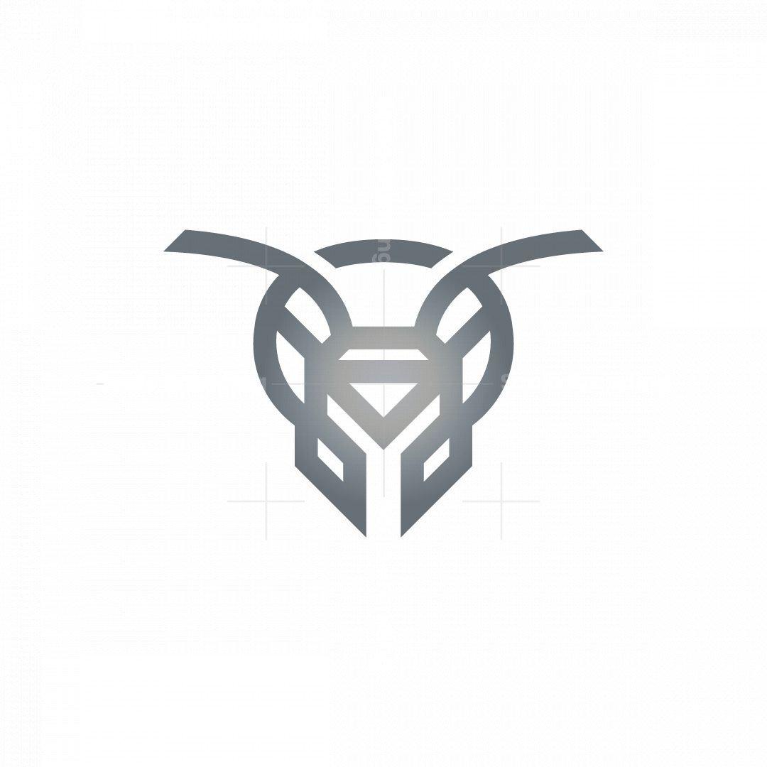 Silver Ant Head Logo
