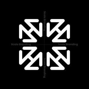 Square Letter H Logo