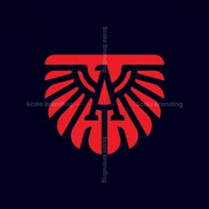 Bird Letter A Logo