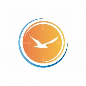 Bird In Sun Logo