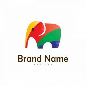 Colourful Elephant Logo