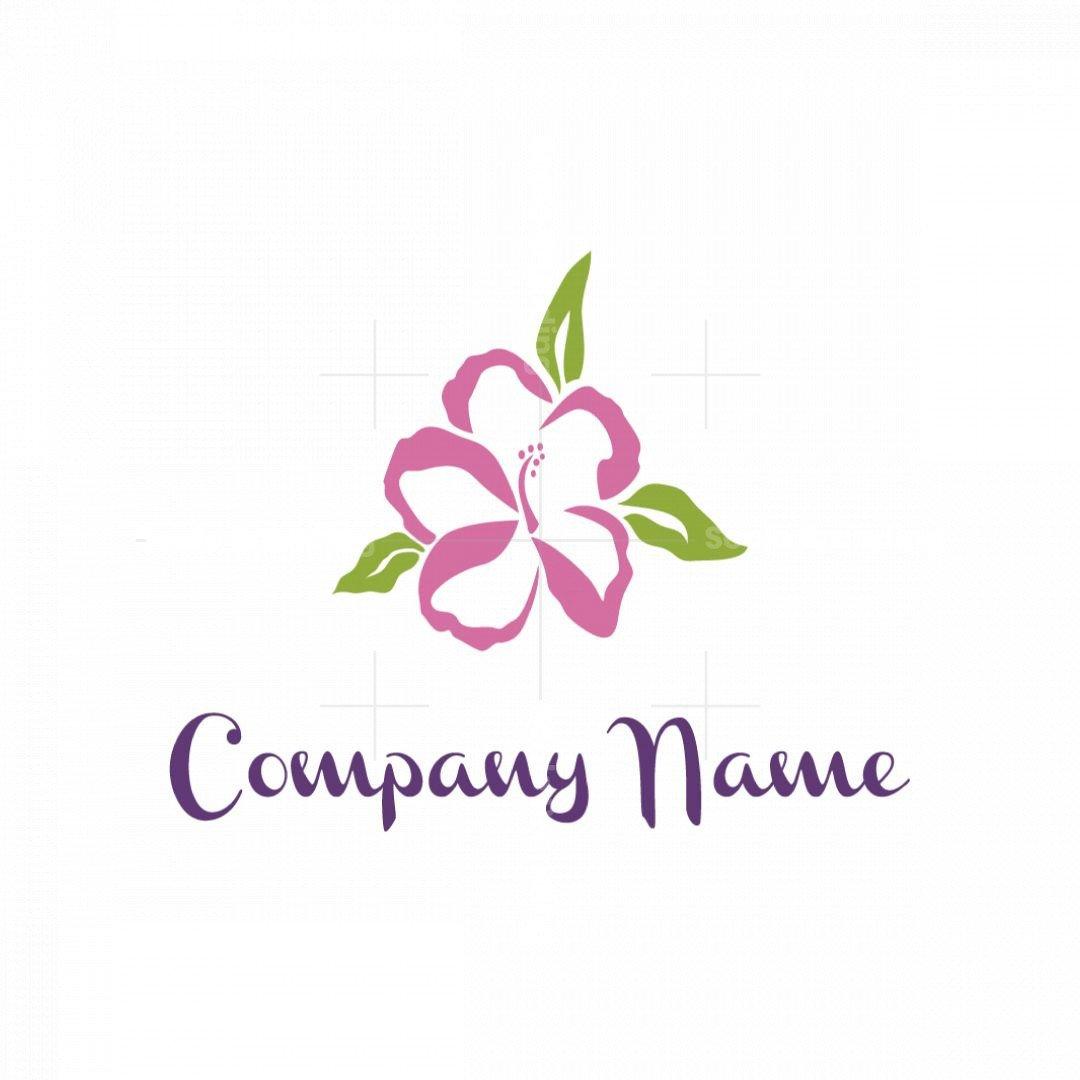 Hibiscus Flower Logo